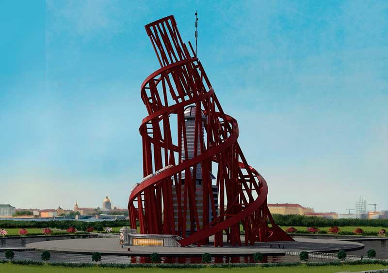 Vladimir Tatlin'in eseri Tatlin Kulesi.