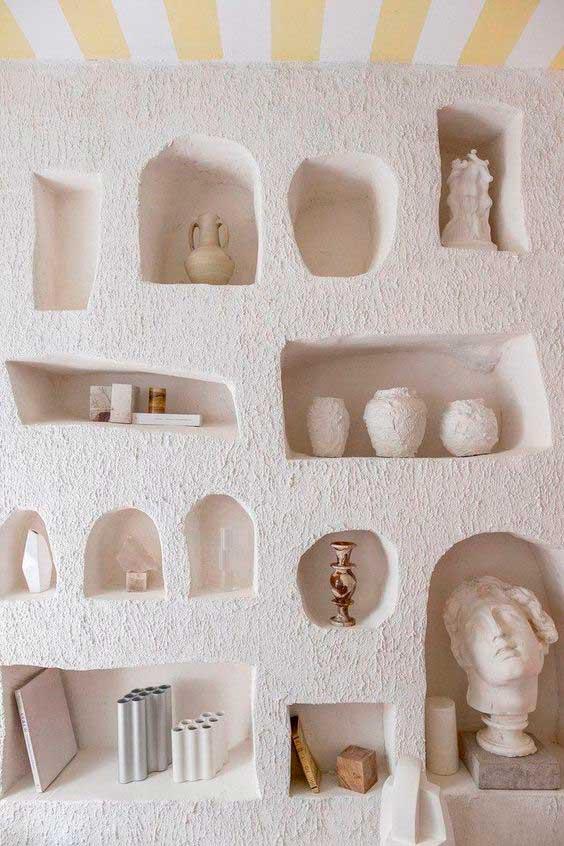 Duvar iç mimari niş örneği