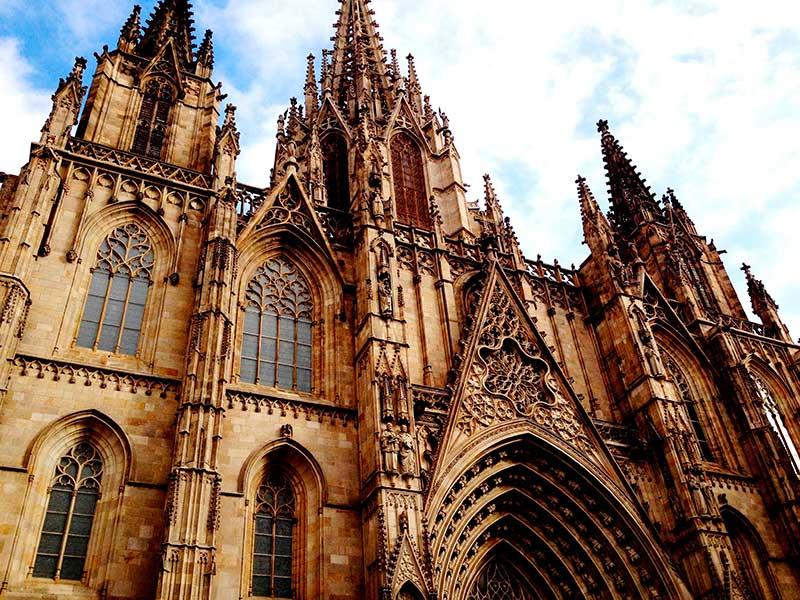 Barselona katedrali.
