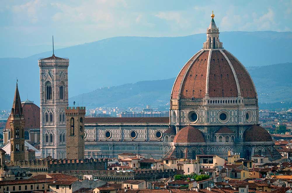 Gotik mimari örneği; Floransa Katedrali