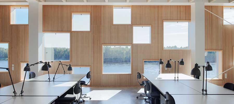 Mimaride açıklık örneği.